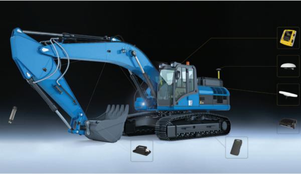 Excavator Laser indicator